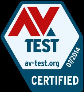 AV Test certificaat