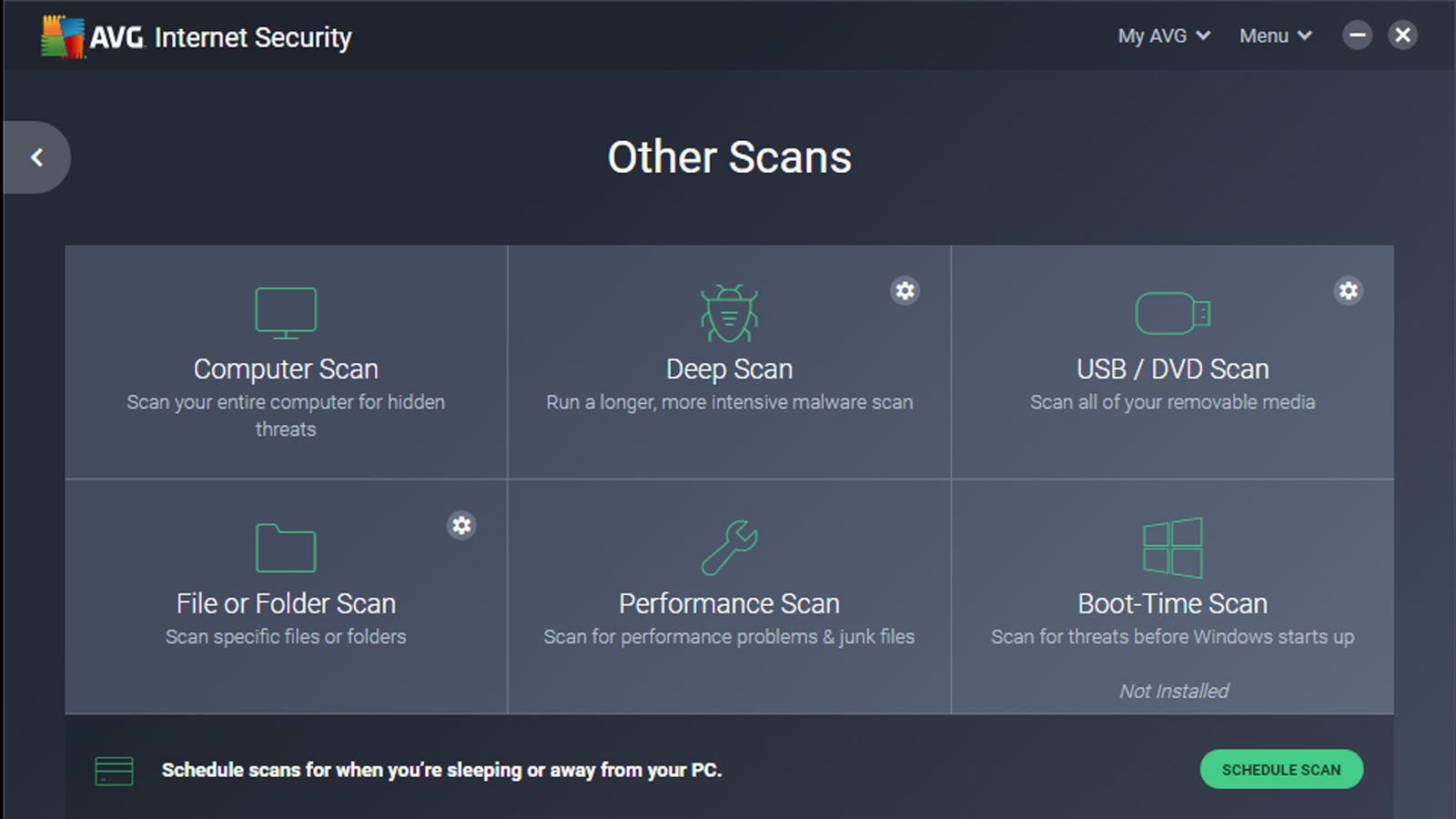 scan avg