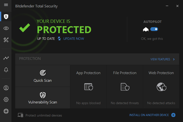 bitdefender protection