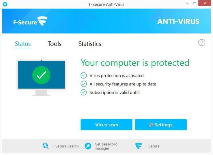 fsecure anti virus